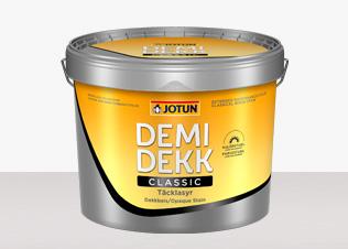 DEMIDEKK Classic Täcklasyr hittar du hos Färghem - din lokala färghandel på nätet