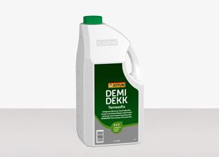DEMIDEKK Terrassfix ett kraftigt rengöringsmedel baserat på biologiskt nedbrytbara komponenter finns hos farghem.se din lokala färghandel på nätet