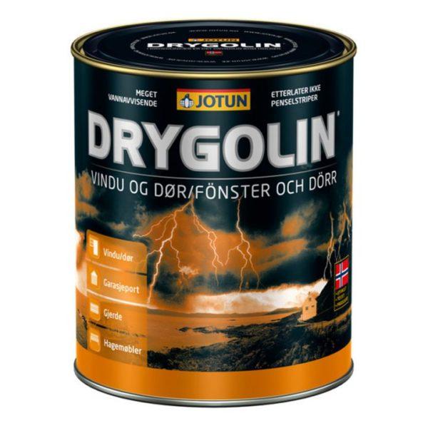 Drygolin fönster och dörr är ett träskydd du hittar på färghem.se