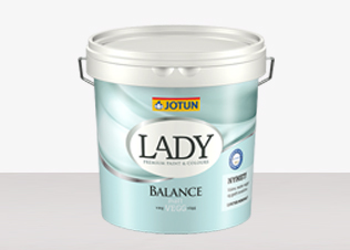 LADY Balance hittar du hos Färghem - din lokala färghandel på nätet utomhusfärg