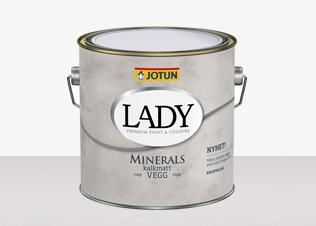 LADY Minerals hittar du hos Färghem - din lokala färghandel på nätet