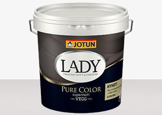 LADY Pure Color är eksklusiv kulörupplevelse och hittar du hos Färghem - din lokala färghandel på nätet