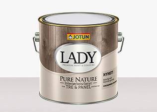 Lady Pure Nature Interiörlasyr hittar du hos Färghem - din lokala färghandel på nätet
