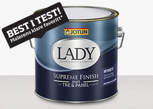 Lady Supreme Finish finns hos färghem din lokala fargbutik online