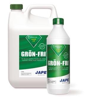 Jape grönfri mot påväxt finns hos Färghem din lokala färghandel online
