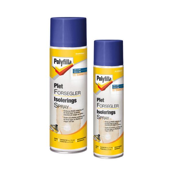 Polyfilla isoleringsspray 500 ml finns hos Färghem din lokala färghandel online