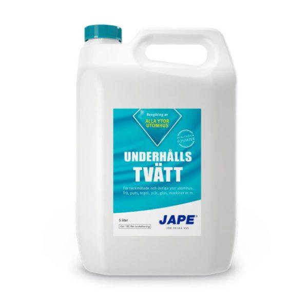Jape underhållstvätt 1 & 5 L finns hos Färghem din lokala färghandel online