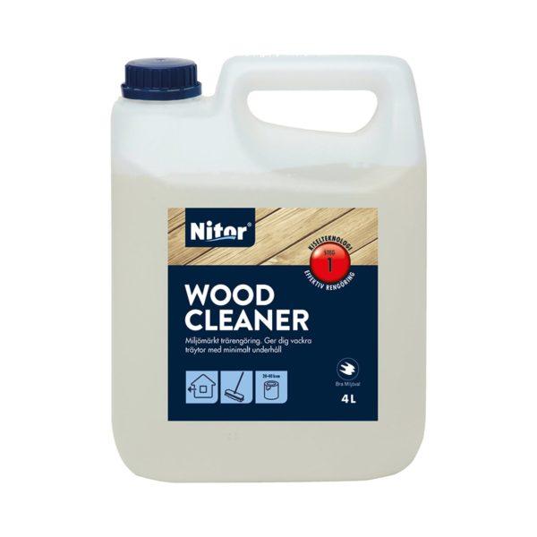 Nitor Wood Cleaner finns hos Färghem din lokala färghandel online